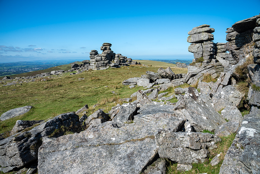 Granite outcrop on Great Staple Tor 11