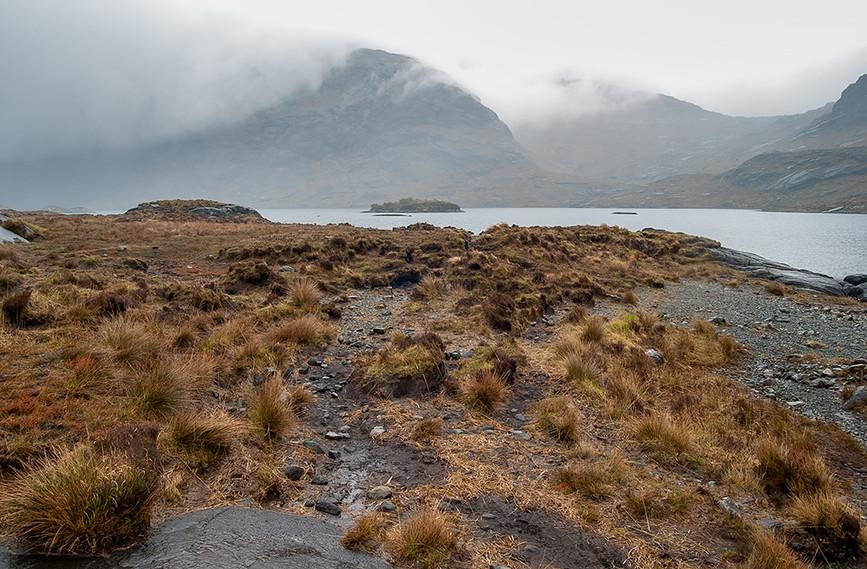 View across Loch Coruisk
