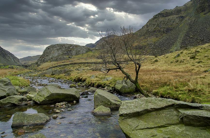 Nant Peris River looking North 03