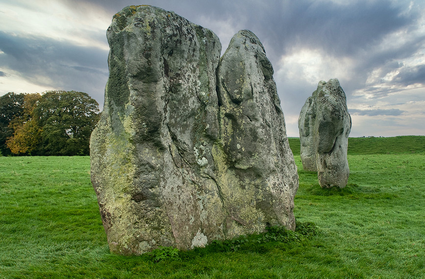 Views of Avebury & Individual Stones 35