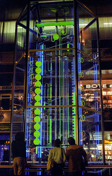 Water Clock in the Europa Centre