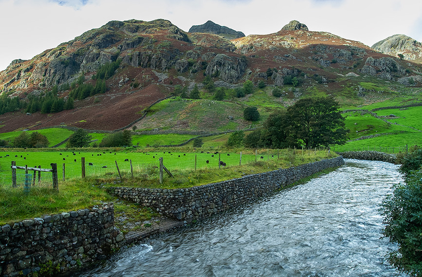 Stickle Ghyll running down from Stickle Tarn