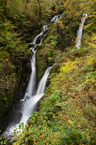 Stock Ghyll Force (autumn) 03