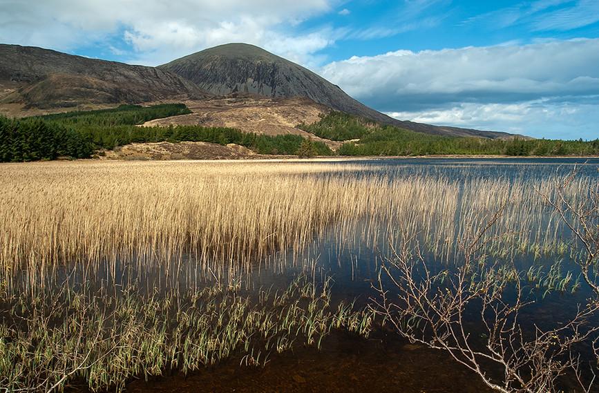 Loch Cill Chriosd with Beinn na Caillich behind