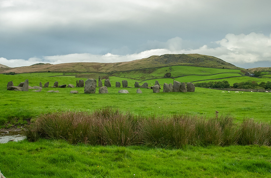 Swinside stone circle looking north