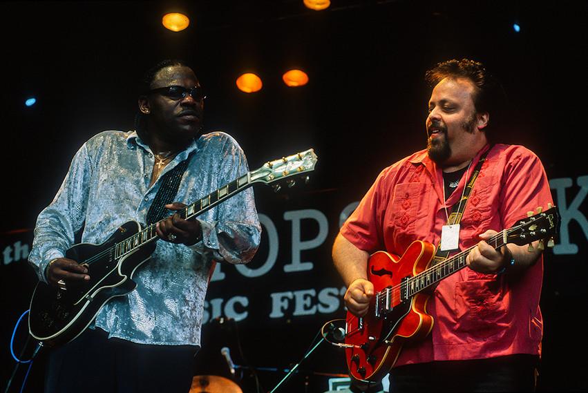 Joe Louis Walker with Otis Grand 01