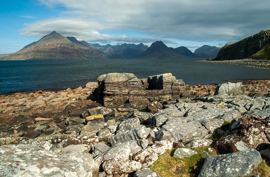 Across Loch Scavaig to the Black Cuillins 11