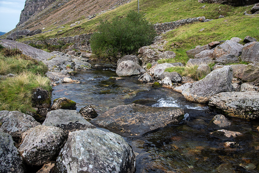 Details of the Nant Peris River 01