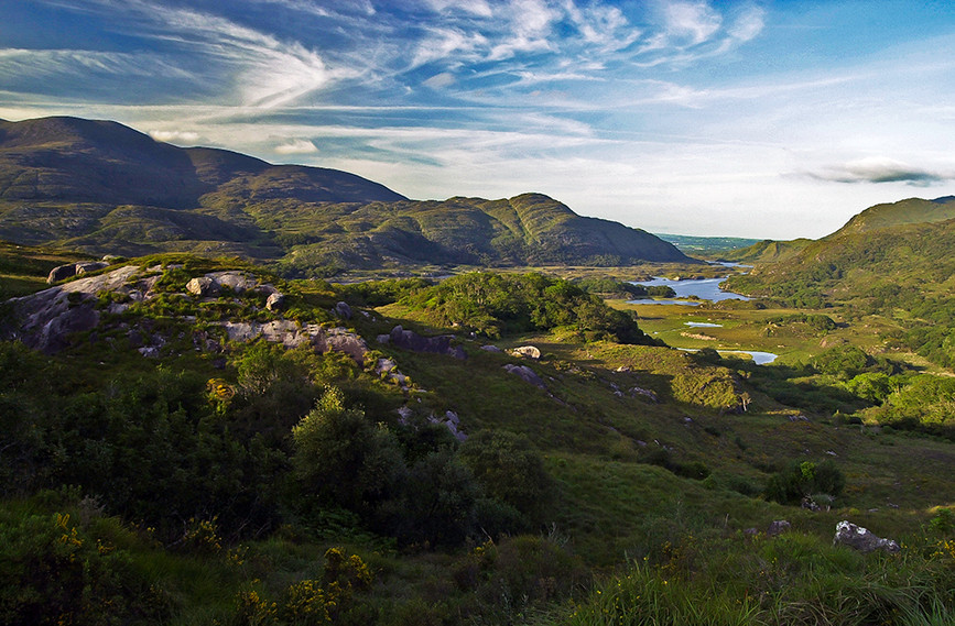Killarney National Park from Lady's View