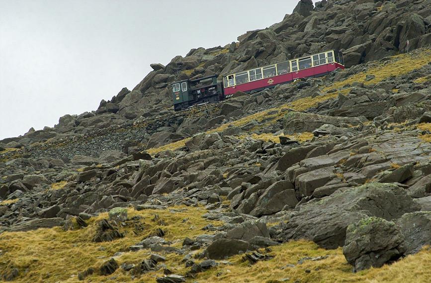 Climbing Snowdon 01