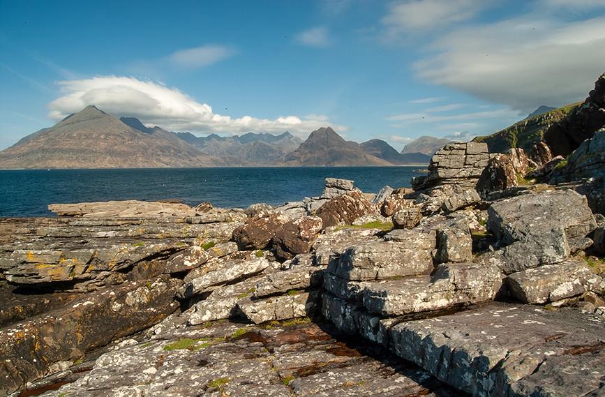 Across Loch Scavaig to the Black Cuillins 03