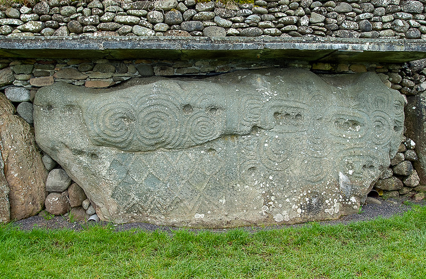 Decorated Kerb Stone 02