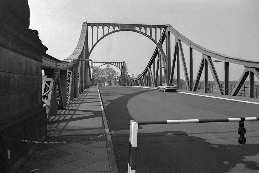 View across the Bridge - Where the exchanges happened