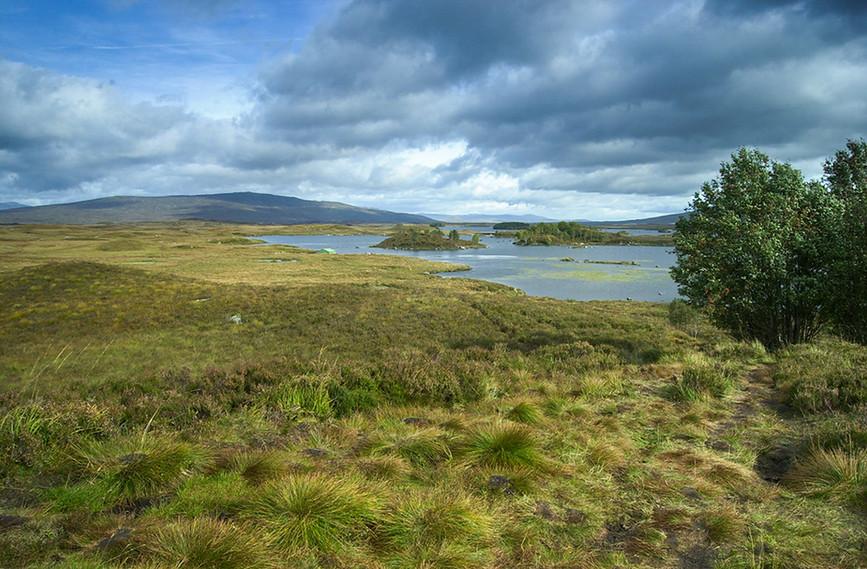 Loch Ba across Rannoch Moor