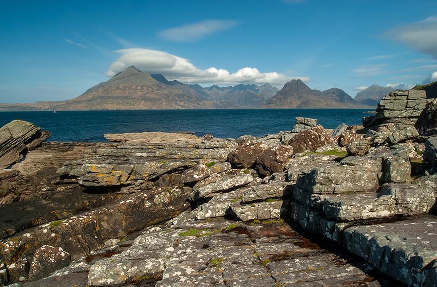Across Loch Scavaig to the Black Cuillins 02