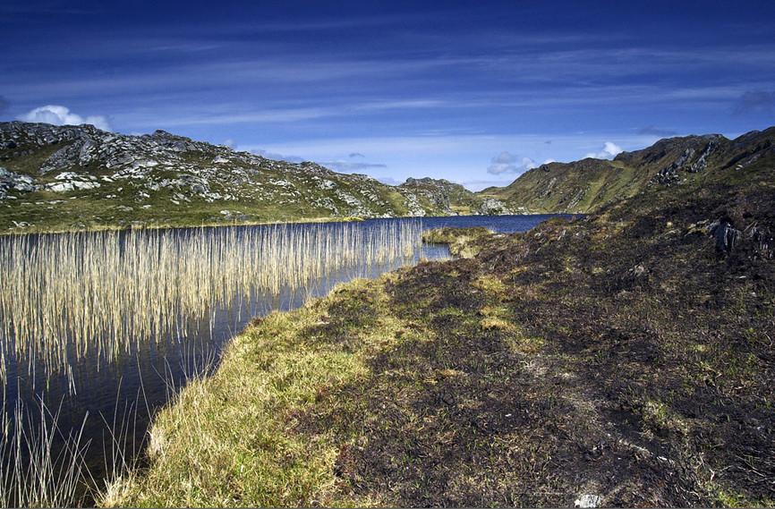Lake at tip of Sheep's Head Peninsula, C