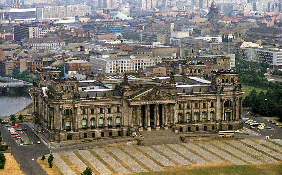 The Reichstag from the air