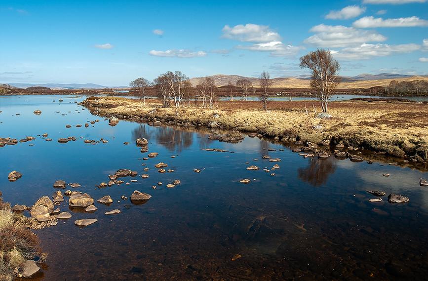 River leading to Loch Ba, Rannoch Moor 02