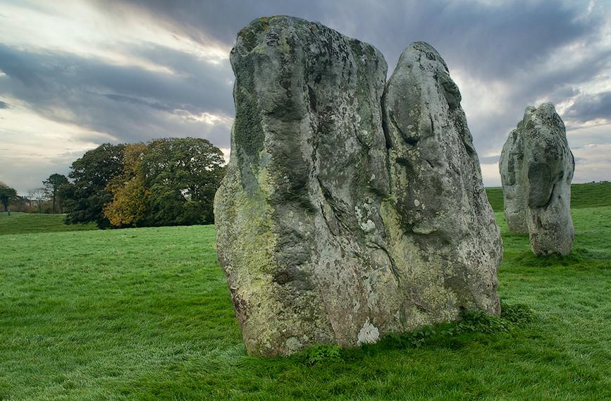 Views of Avebury & Individual Stones 14