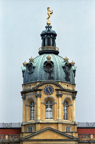 Dome tower of Charlottenburg Palace