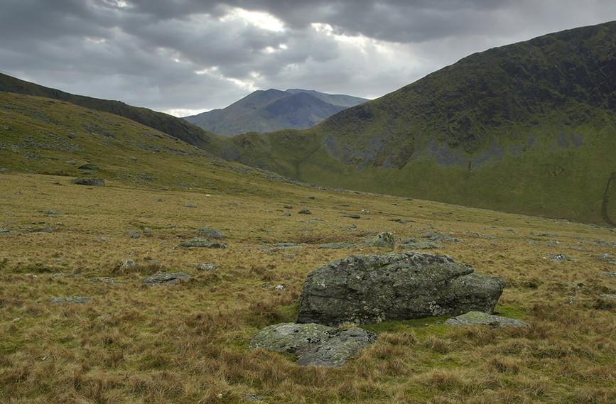 View towards unknown mountain