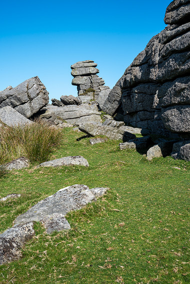 Granite outcrop on Great Staple Tor 4