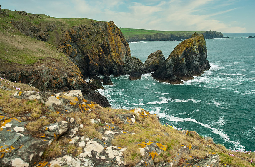 View of Kynance Cove 03