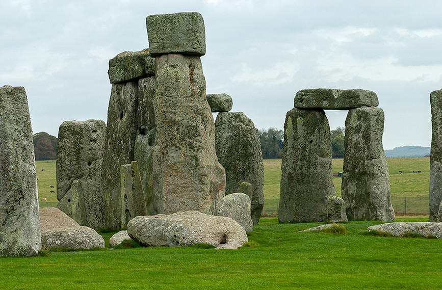 Detail of the Monoliths