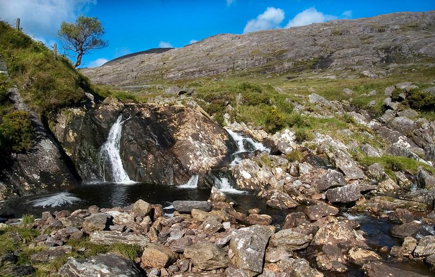 Falls, Healy Pass, Caha Mountains, Beara