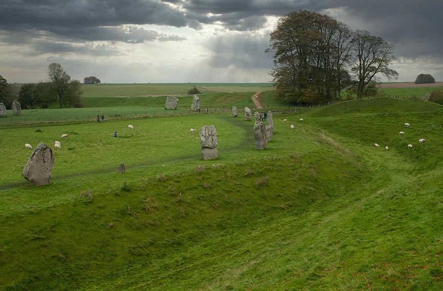 Views of Avebury & Individual Stones 21