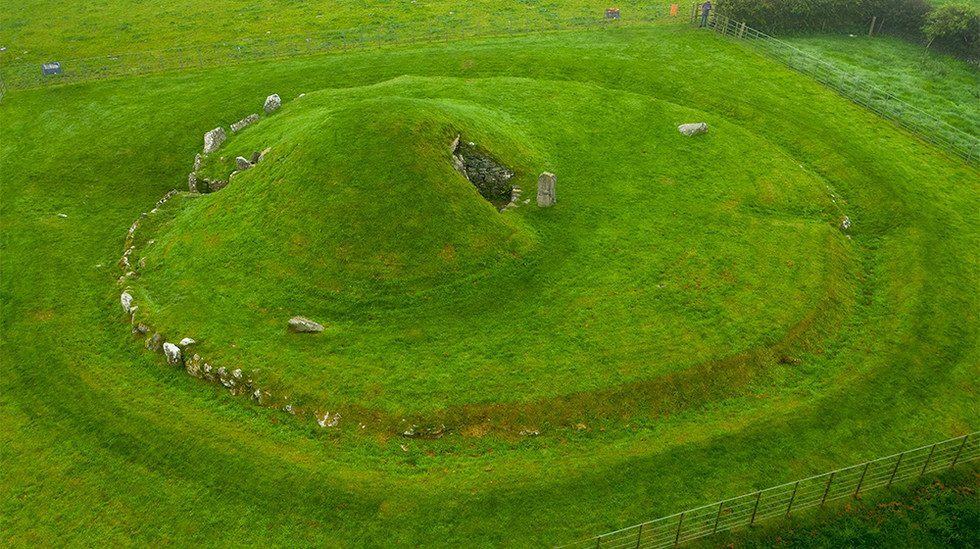 Bryn Celli Ddu Neolithic Burial Chamber 04