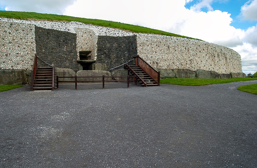 Passage Tomb entrance from the South