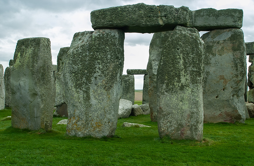 Deatil of the Monoliths