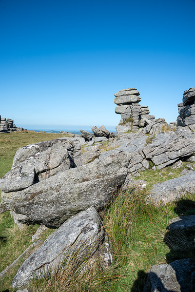 Granite outcrop on Great Staple Tor 7