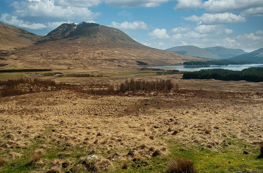 Ben Inverveigh & Loch Tulla, nr Bridge of Orchy
