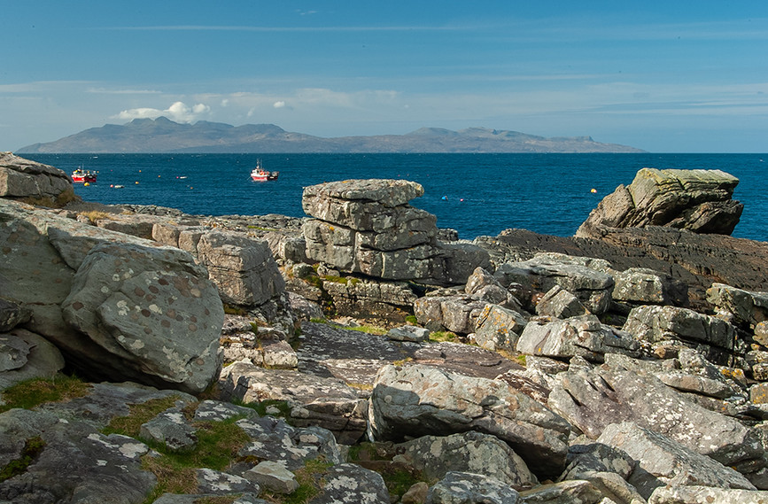 The Island of Rum from Elgol