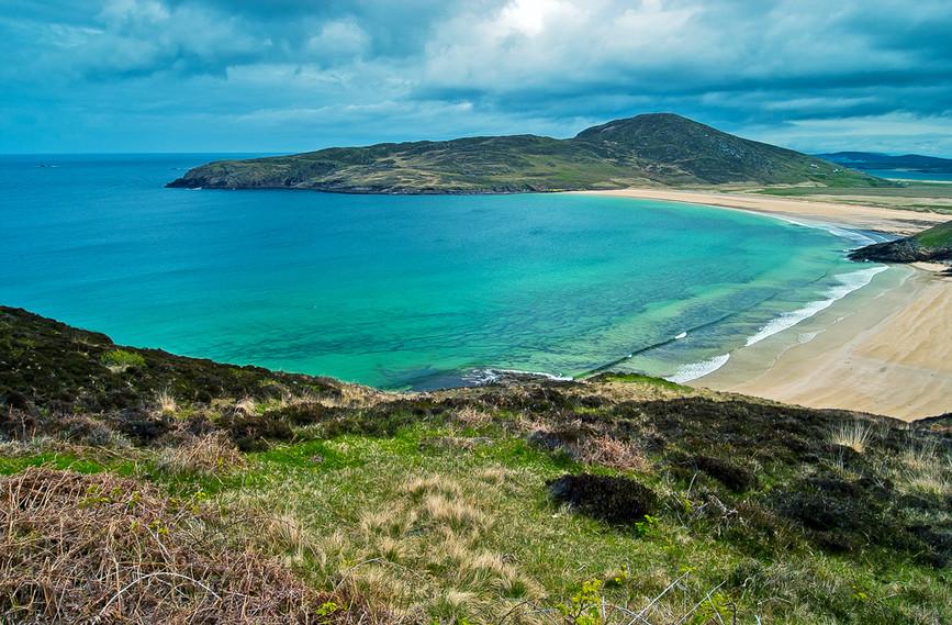 Isolated Beach, Horn Head, County Donega