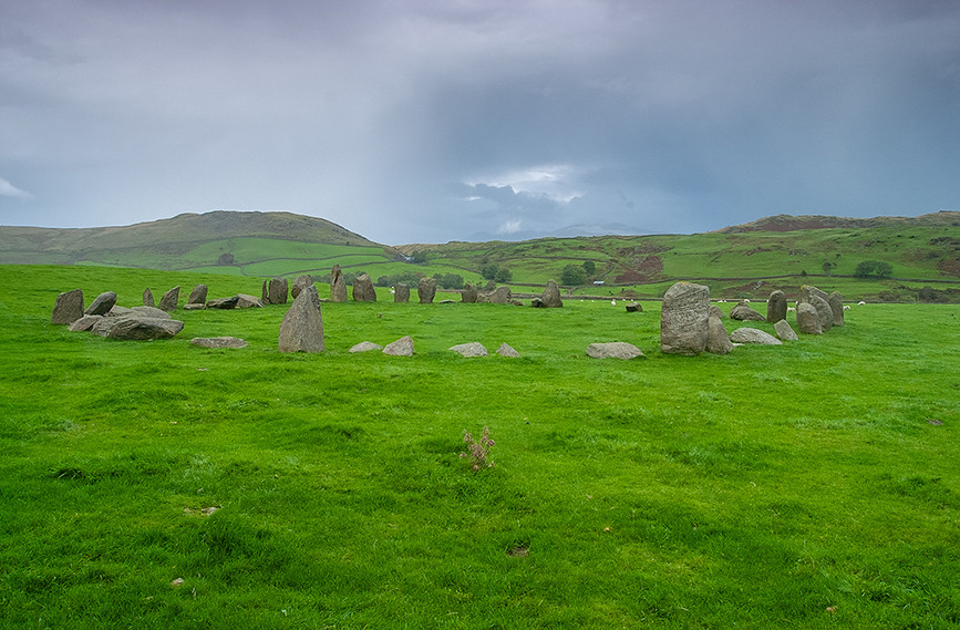Swinside stone circle from the south west