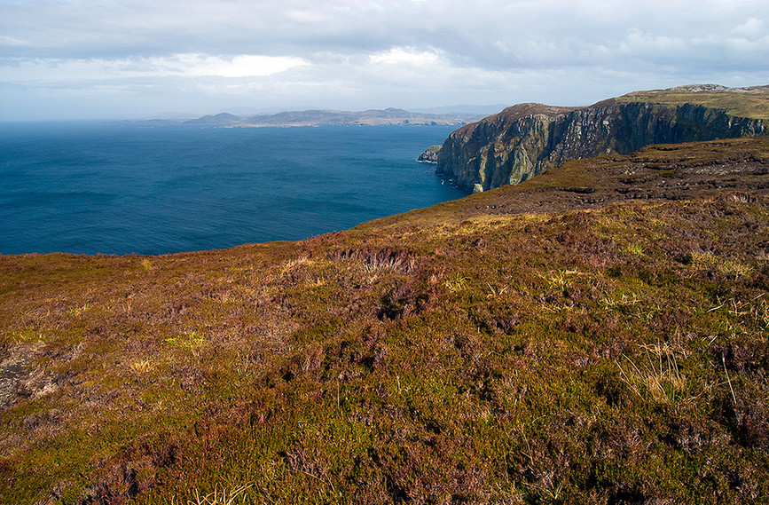 Cliffs of Horn Head, County Donegal, Ire