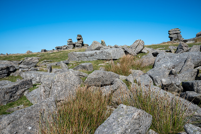 Granite outcrop on Great Staple Tor 2