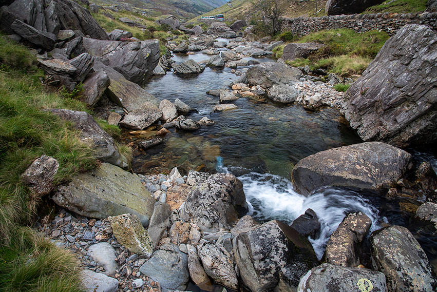 Details of the Nant Peris River 12