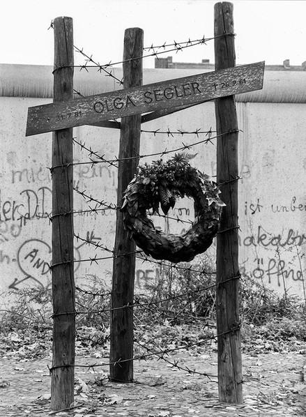Memorial to Olga Seglar, Died trying to make a bid for freedom 1961