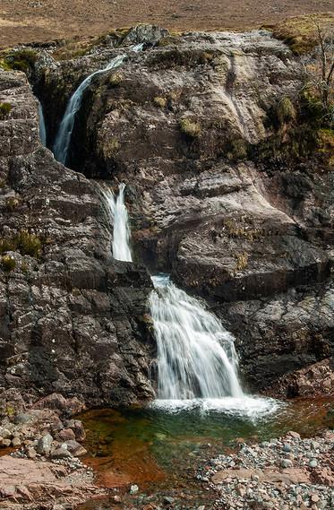 Clachaig Falls, Glencoe 01