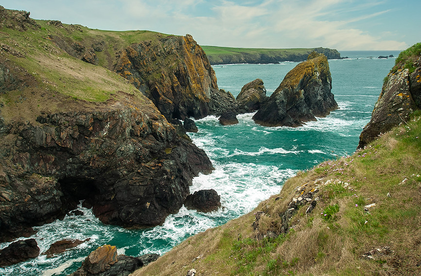 View of Kynance Cove 01