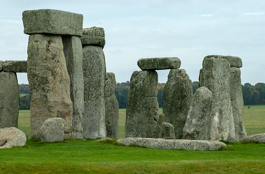 Details of the Sarcen Stones