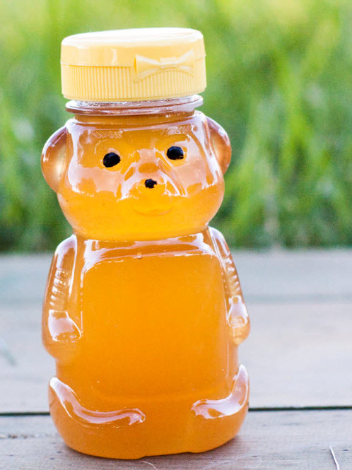 1/2 lb Bear  plastic container