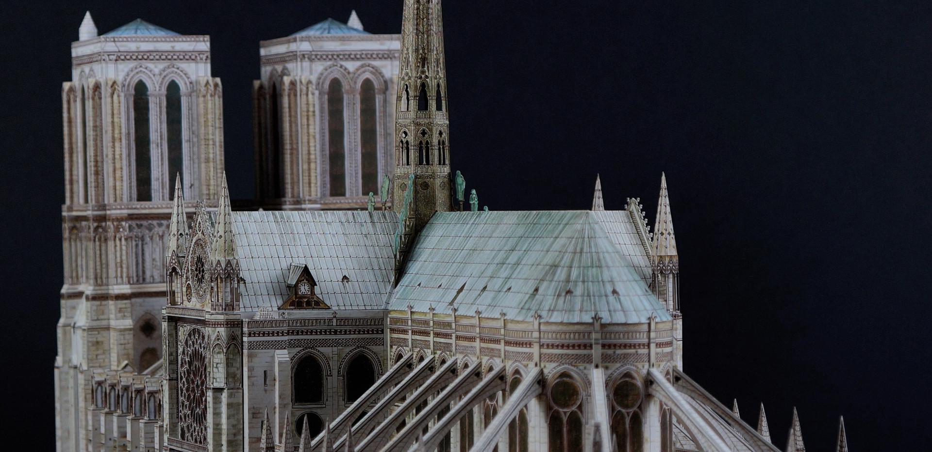 Model Katedry Notre Dame