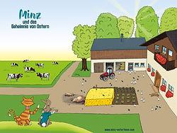 Minz und das Geheimnis von Ostern - Minz auf dem Bauernhof