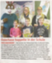 Lesung Obergrafendorf Minz Schule