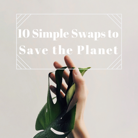 "10 Easy Swaps to ""Save the Planet"""